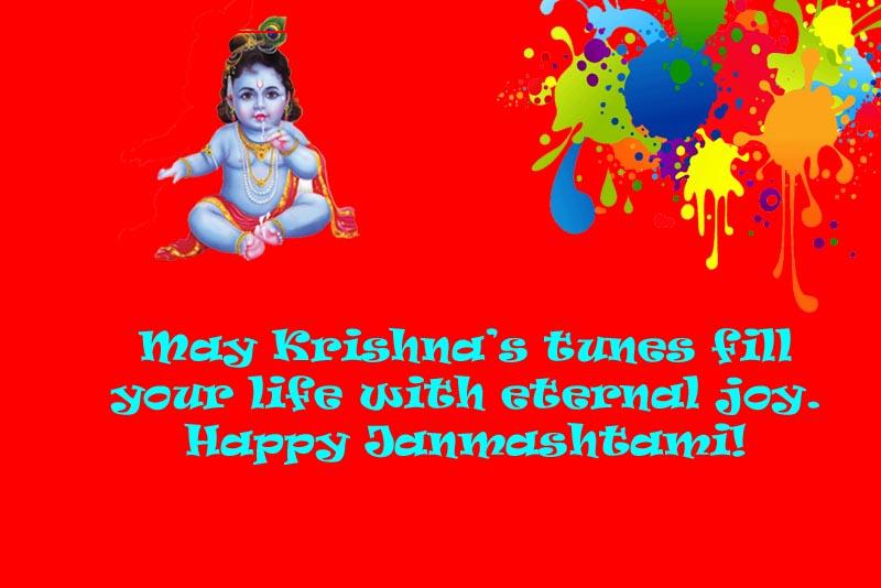 sri krishna happy janmashtami