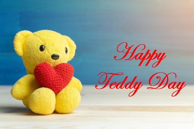Happy teddy day girlfriend