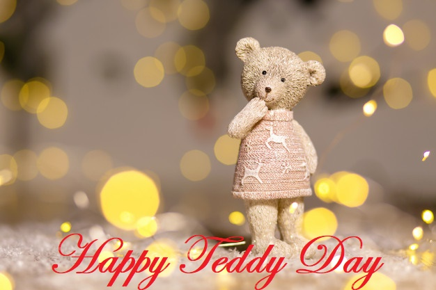 Cute teddy bear girl