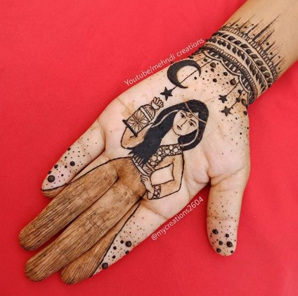 Happy Eid al Fitr 2020 new mehndi designs
