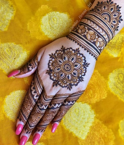 New Best Eid al Fitr 2020 mehndi designs
